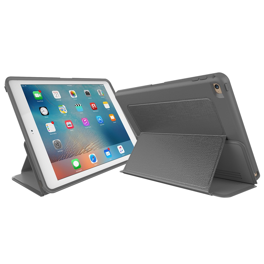 Wholesale PC Leather Smart Cover Case for iPad 6 Air 2 PU Flip Cover