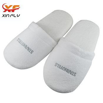 Luxury White Coral fleece washable SPA slipper