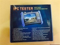 top sale multi-function 7 inch touch screen IP camera tester IPC8600 network cable tester