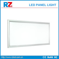 Modern Commercial edge light ultra thin reflector diffused Multi-colored LED Flat panel 30x30 18W