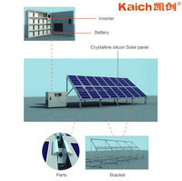 500W 1KW 2KW 3KW 4KW 5KW 8WK 10KW Up to 30KW Off Gird Solar Engery Power Generation System