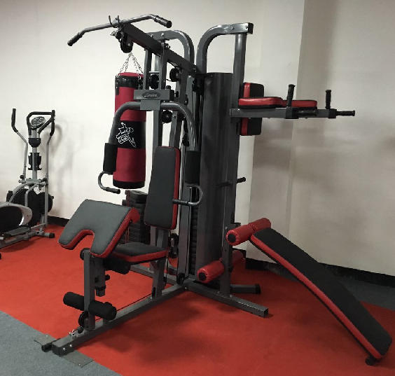 multi gym equipment 4 station fitness machine with boxing AMA-7000E/1