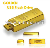 Jewelry USB (Gold Bar)(Drop-shipping, Wholesale)