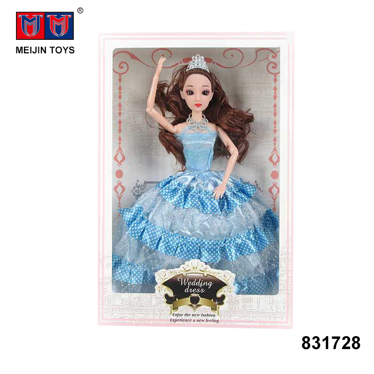 11 joints 3D eyeball wedding dress toys 11.5 inch fashion <strong>dolls</strong> for girl