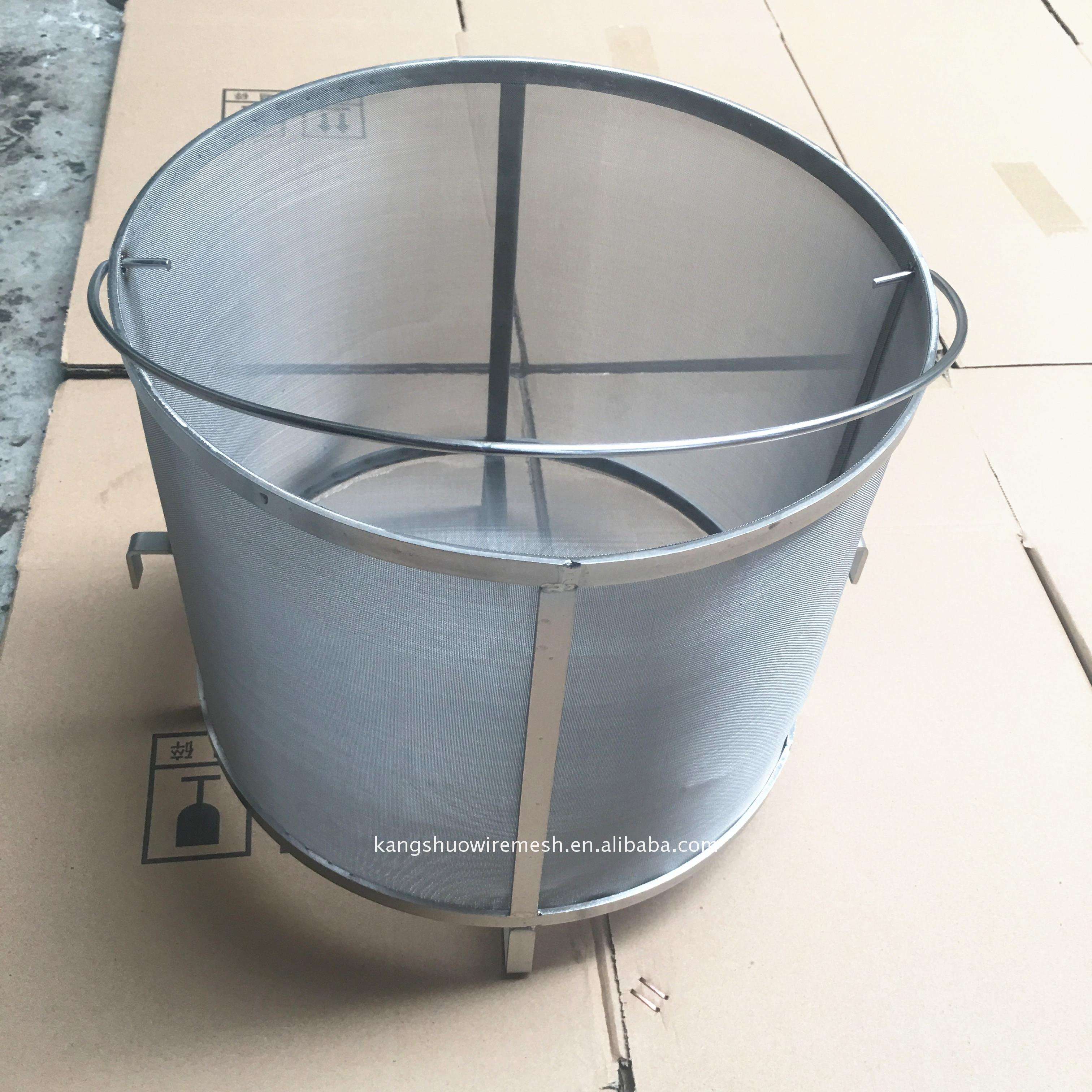 Factory Supplier 304 stainless steel hop grain basket