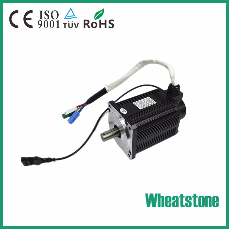 Good quality DC24V-310V High effiency 200W-20KW dc brushless motor