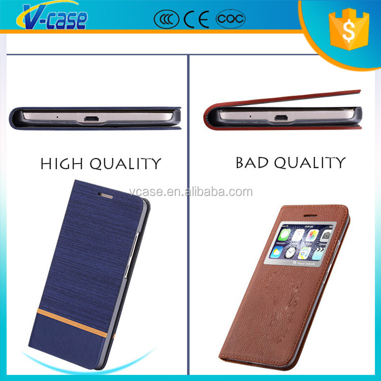 VCASE High Quality Book Style Leather Phone Case Cover For HTC Desire 616 626