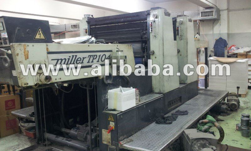 Miller TP-104-2-color printing machine