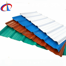corrugated colorful glazed roof tiles