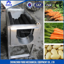 2015 Hot sale Brush cleaning machine/carrot washing machine