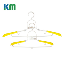 High Quality Upscale Portable Folding Clothes Hanger Rack