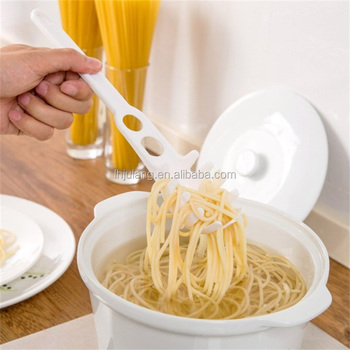 2018 New desigh Multifunction kitchen tool plastic spoon