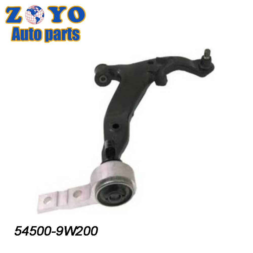54500-9W200 Right for Nissan Teana lower control arm for Nissan Teana auto parts