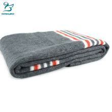Cost price special discount recycled cotton thread jacquard blanket