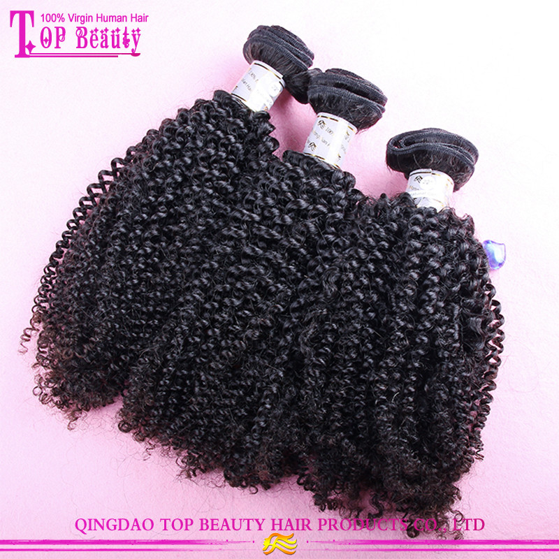 100% Virgin indian afro kinky curly hair hot sale afro kinky hair weaving grade 7a afro kinky human hair