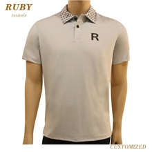 Wholesale Dry Fit Polyester Golf Polo Shirt Golf <strong>Apparel</strong>