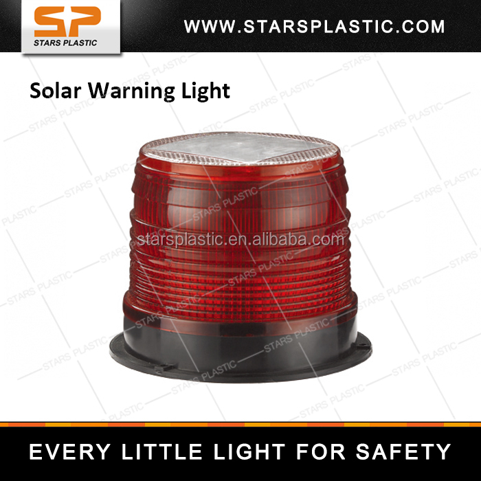 Rotating flash LED Beacon solar LED warning light Mining Lamp