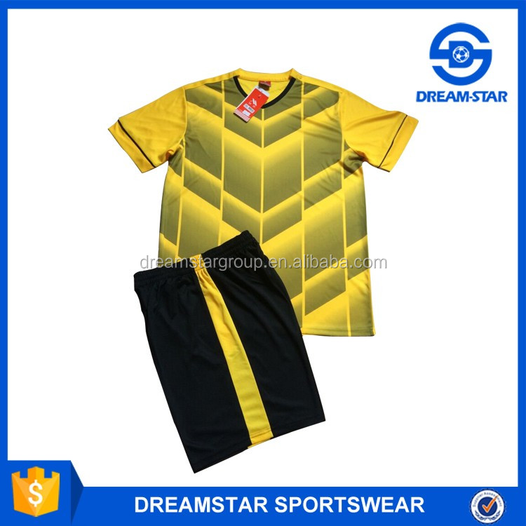 Design Your Own Style Custom Blank Soccer Jersey Wholesaler