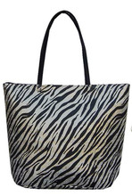 Zebra print paper straw wholesale factory price brand shopping bags
