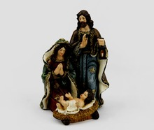 Polyresin Religious Holy Family Christmas Nativity Statue Wholesale
