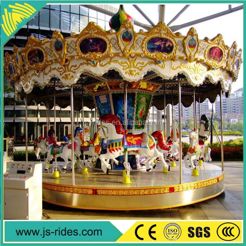 Popular Sale 24 seats luxury Carousel,Merry Go Round,Amusement Park Carousel Horses For Sale