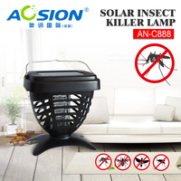 Aosion Garden Outdoor Solar Power Kill Pest Insect Killer for Mosquitoes AN-C888
