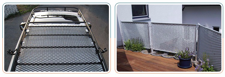 Steel Expanded Decorative Mesh Metal Stair Tread