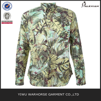 Coconut tree print shirt