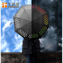 water activated ink color changing fabric wet Hydrochromic ink