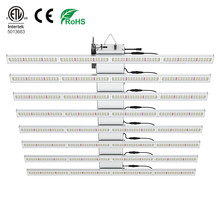Customized full spectrum hydroponic greenhouse 5/8/10 Bars 600W 800W 1000W Led Grow Light for Indoor Plants