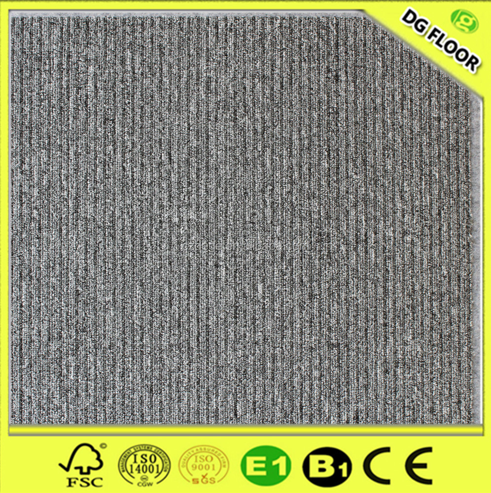 100%PP/Nylon strip design eco waterproof anti-slip restaurants carpet design