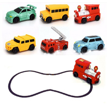 Factory sale electric drawing line toys magic toy truck inductive car for kids
