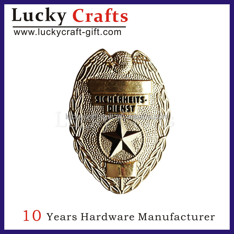 2016 high quality cheap fish fake security badge for sale