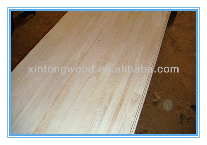 Paulownia finger jointed panels/finger-joint pane