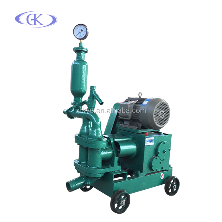 Electric mobile fine stone electric concrete cement pump grouting pump