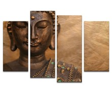 Modern Abstract Wall Art Buddha Oil Painting On Canvas For Home Decoration
