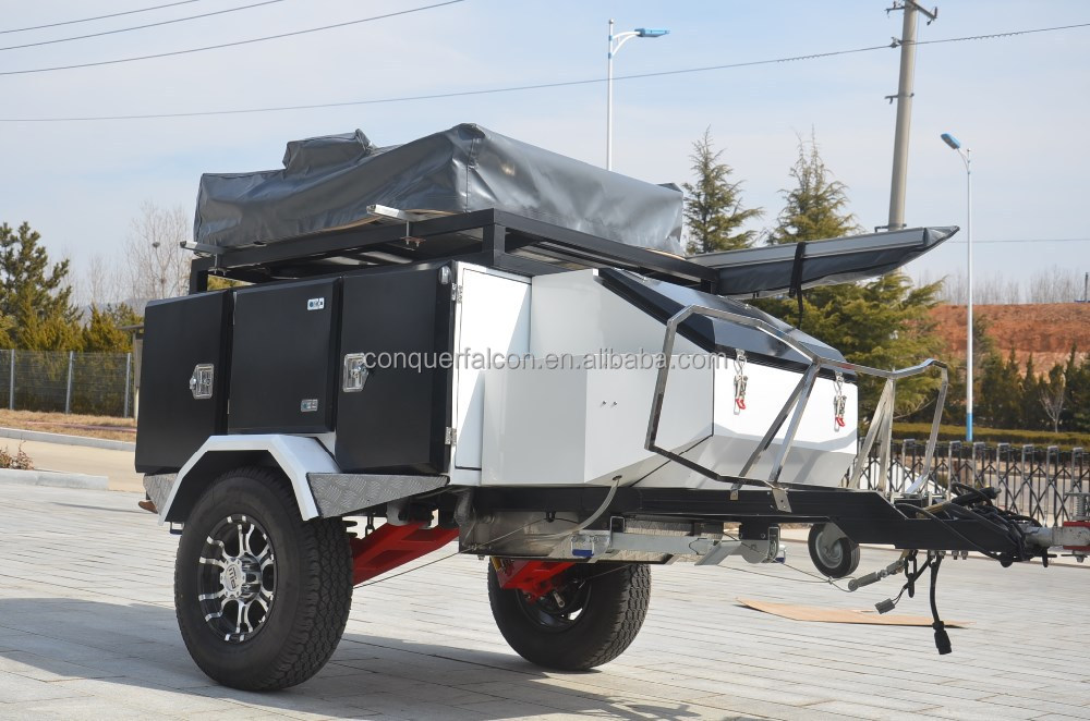 Lastest Offroad Tent Trailers Like The TerraDrop From Oregon Trailr Offer Many Of The Amenities Of Conventional RV Trailers But In A Compact Package Capable Of Dry
