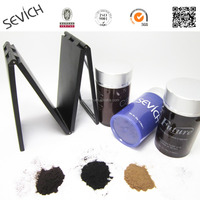 OEM Hair Fiber Keratin Hair Loss Restore Powder Black/Dark Brown/Light Brown/Gray/ Blonde