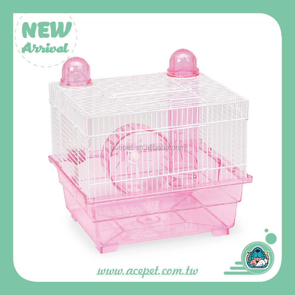 736-B High quality plastic pan hamster cage small animal cage Wire Cages