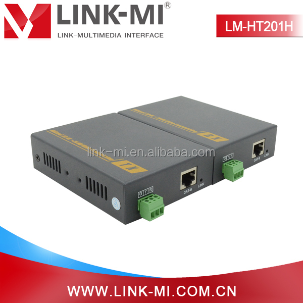 LINK-MI LM-HT201H transmission distance for 1080P reaches 100 meters hdmi extender cat5e x1