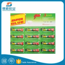 best-seller 502 cyanoacrylate adhesive super glue for household using