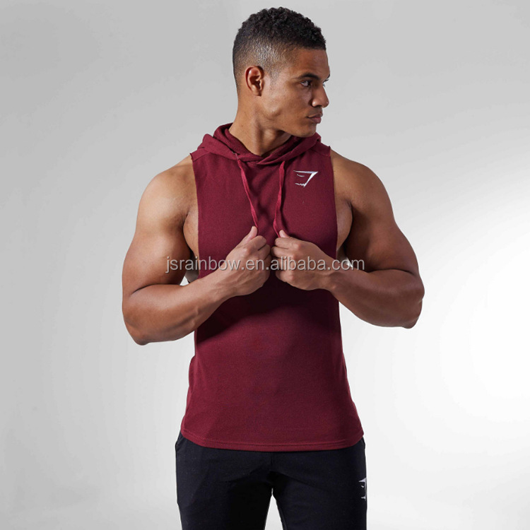 2017 new design oem artwork cotton stringer gym tank top men wholesale