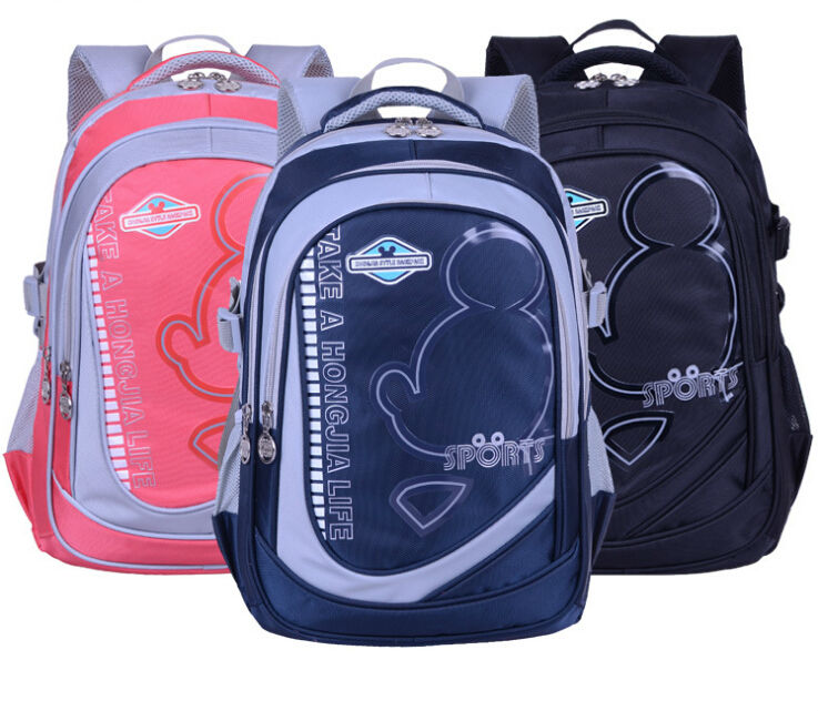 School backpack School bags for college students high class student school bag