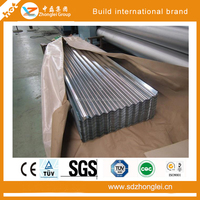 Color coated aluminum zinc alloy plating metal roof tiles