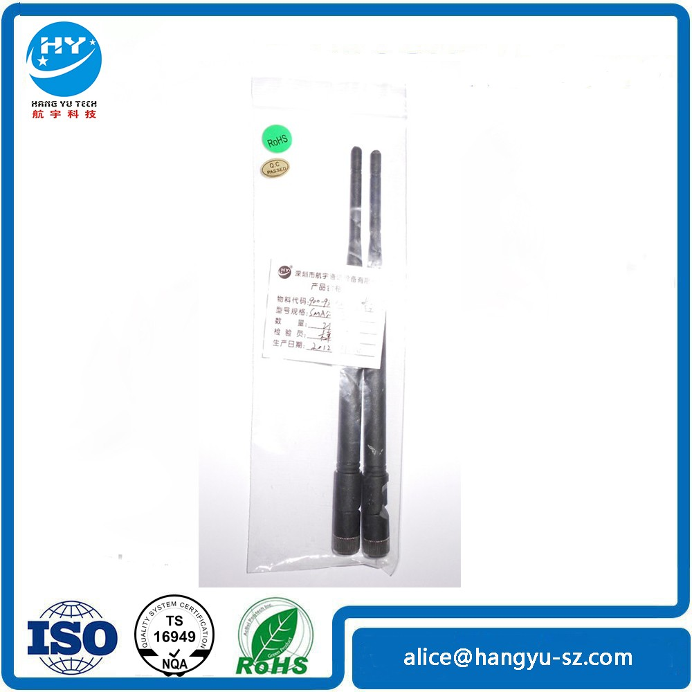 Shenzhen Factory Sell 930MHz Rubber Antenna SMA Plug