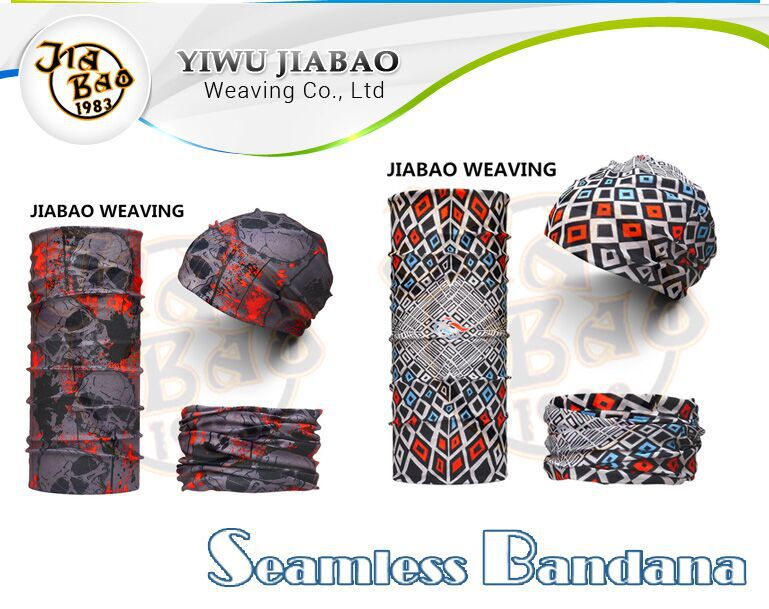 Polyester Seamless Multifunctional Headwear Bandana