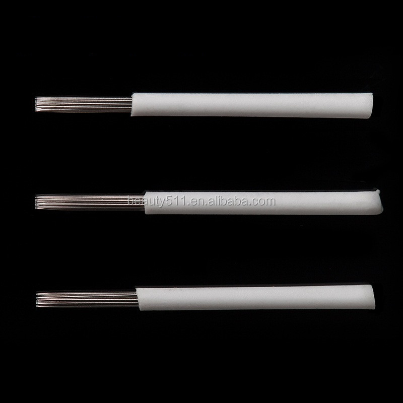 Wholesale High quality Disposable Professional Manua eyebrow Tattoo microblading needle Tattoo tools R17