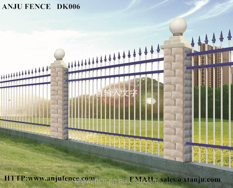ISO certificated Solid metal fence panel made in china DK 006