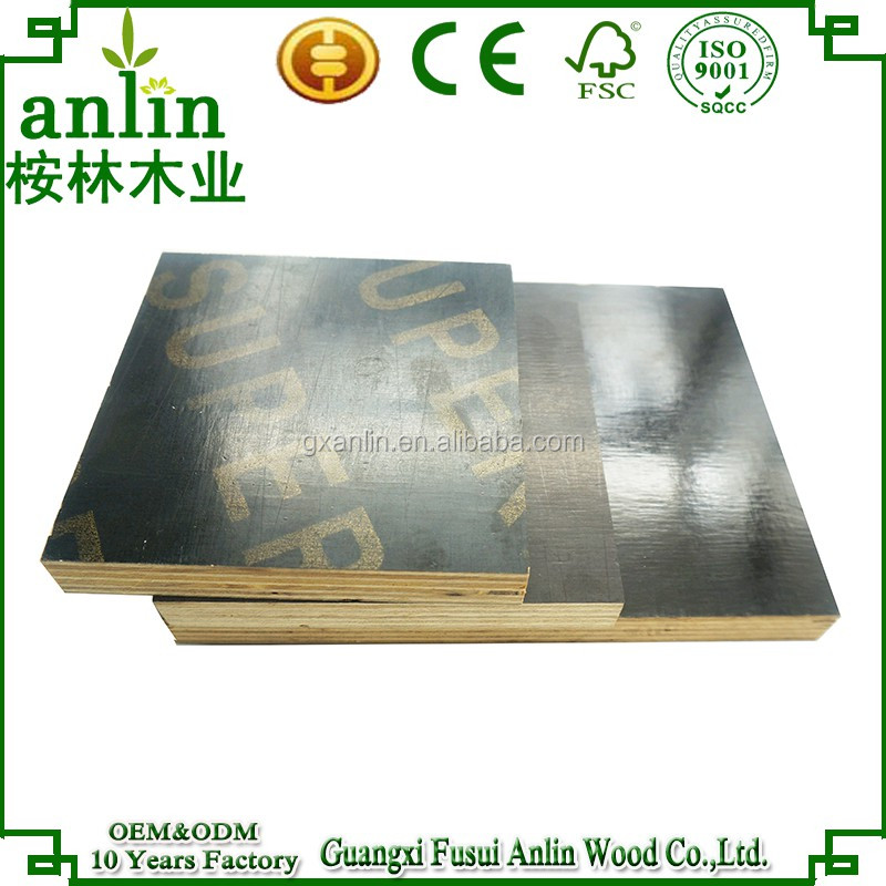 12mm black construction film faced plywood price