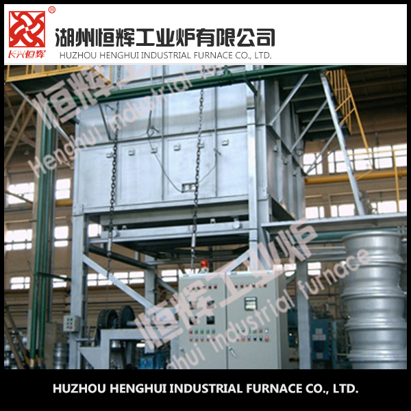 Aluminum alloy vertical forno quenching industrial furnace